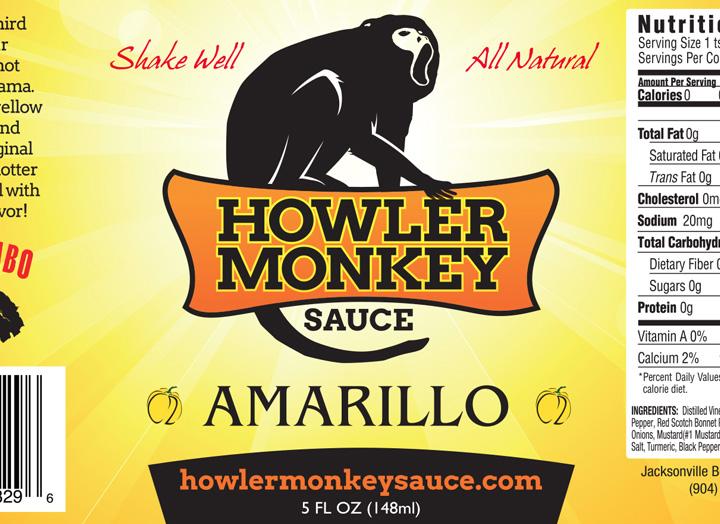 Howler Monkey Sauce Logo