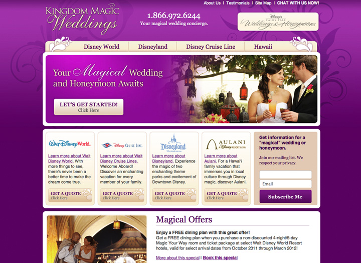 Kingdom Magic Weddings