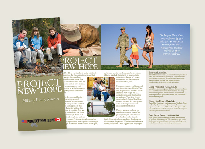 Project New Hope Brochure